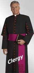 Clergy Robes, Cassocks, Pulpit Robes, vestments, Preaching Gowns