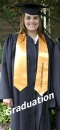 Rental robes, Graduation Cap & Gown, Faculty Regalia Rental, honor stoles and honor cords